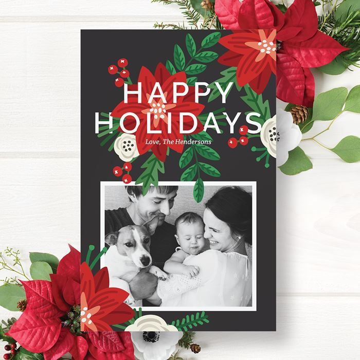 Holiday Cards Personalised Xmas Cards Christmas Photo Cards