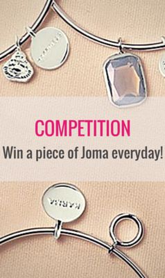 Enter the Your Gift House contest to win a piece of Joma Jewellery each day in March