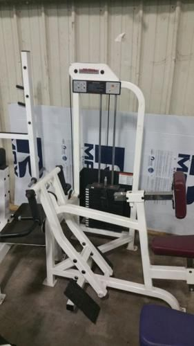 Life Fitness Back Row. Can Ship Item. Commercial Gym Equipment #ad