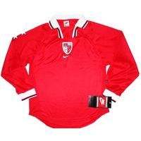 1998-00 FC Sion Away L/S Shirt *w/Tags* S , From CLASSIC FOOTBALL SHIRTS LIMITED , CLASSIC FOOTBALL SHIRTS LIMITED