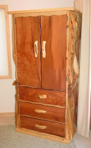 Rustic Burl Wood Bedroom Furniture: 53 Best Images About Rustic Burl Wood & Juniper Furniture