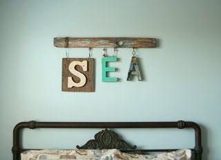S E A – by SeaChange studio---you could spell B E A C H, too.