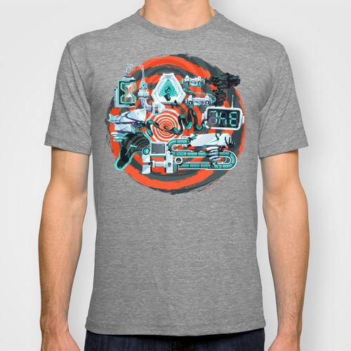 Blast From The Past T-shirt by INSgraphizm | Society6