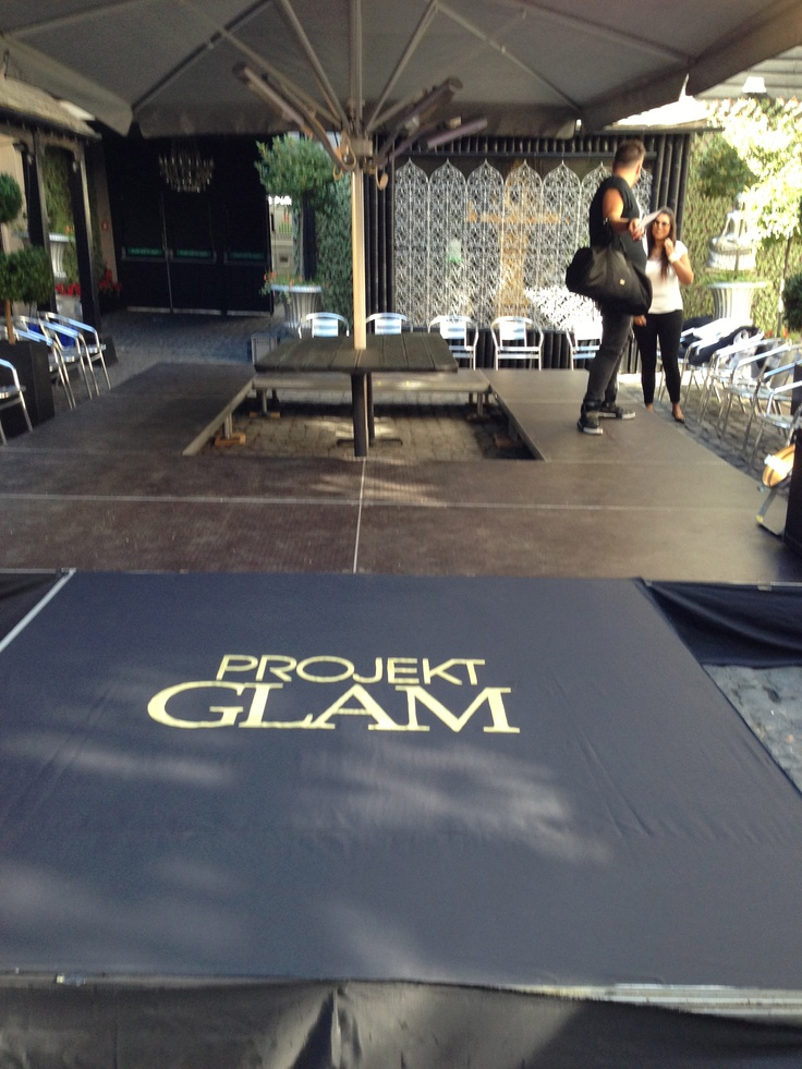 Runway we made for Projekt Glam at the Sugar Hut in Essex