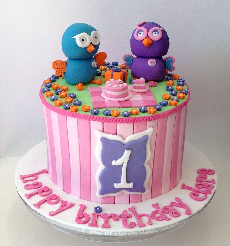Hoot & Hootabelle Cake Like us on  www.facebook.com/melianndesigns