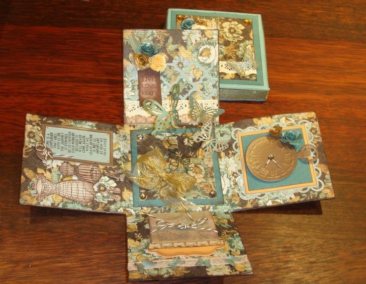 exploding box by charlie horse - Cards and Paper Crafts at Splitcoaststampers