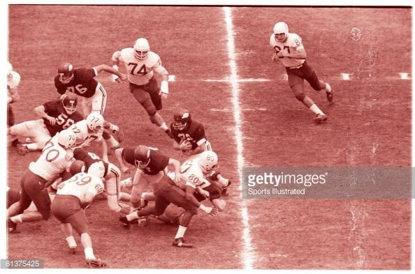 arkansas football 2000 cotton bowl | Cotton Bowl Arkansas Jerry Jones in action making block for Jack ...