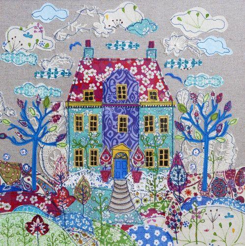 Manor House Greetings Card