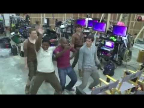 Dylan O'Brien dancing compilation - YouTube