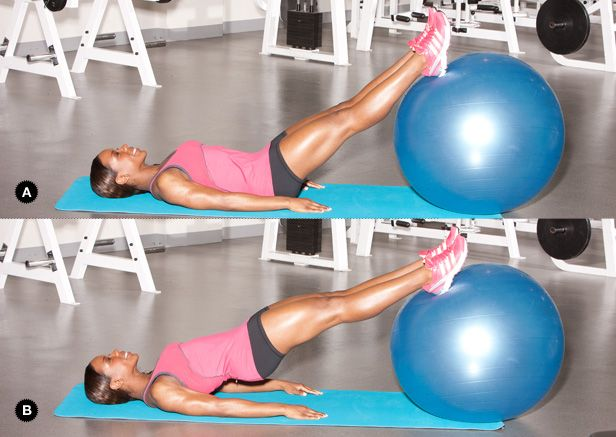 Oh my...so going to try this workout before summer comes around!!Glutes Exercies, Extreme Fit, Workout Exercies, Glutes Workout, Glutes Exercise, Exercise Ball, Stability Ball Workout, Medicine Ball, Butt Workout