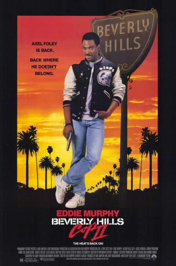 Beverly Hills Cop II (1987) USA Paramount Action crime comedy D: Tony Scott. Eddie Murphy, Judge Reinhold. 2/01/03