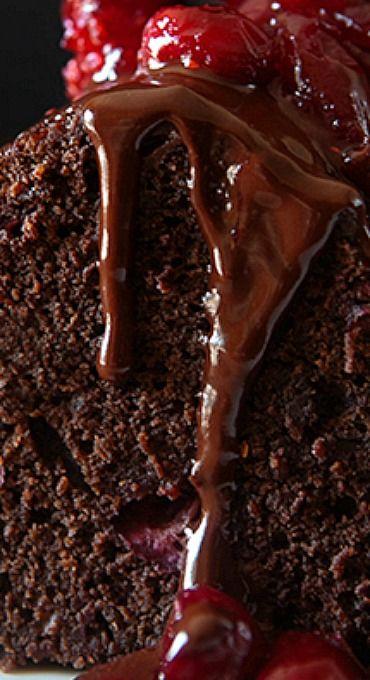 Dark Chocolate Cranberry Bundt Cake