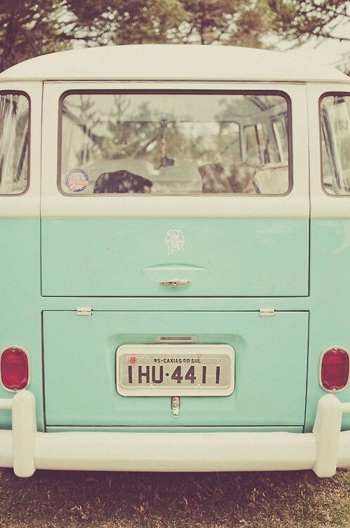 ...I want a camper van so much, painted Mint with Cherry print curtains :-)
