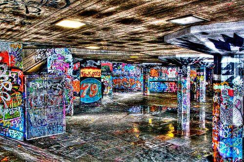 Graffiti on South Bank