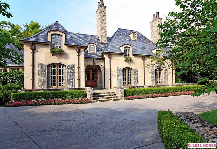 beautiful French country style home