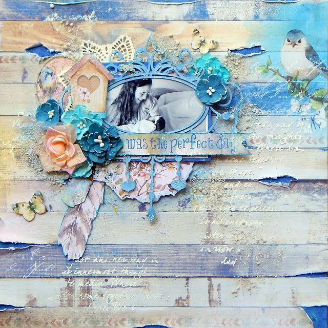 Mixed Media Monday using the Birds Of A Feather kit | Scraps of Darkness | Bloglovin'
