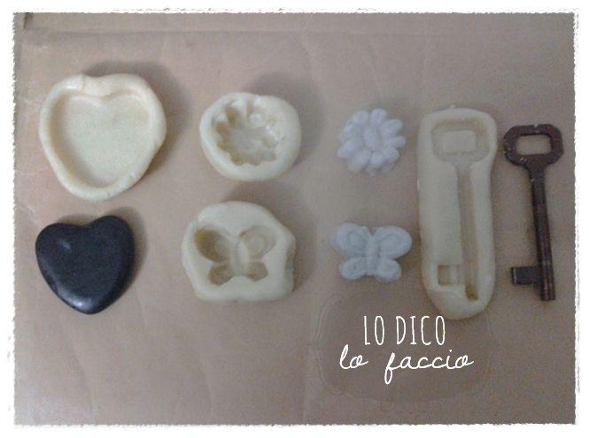 Lo Dico, lo Faccio : Come fare stampi in silicone handmade per gessetti - tutorial