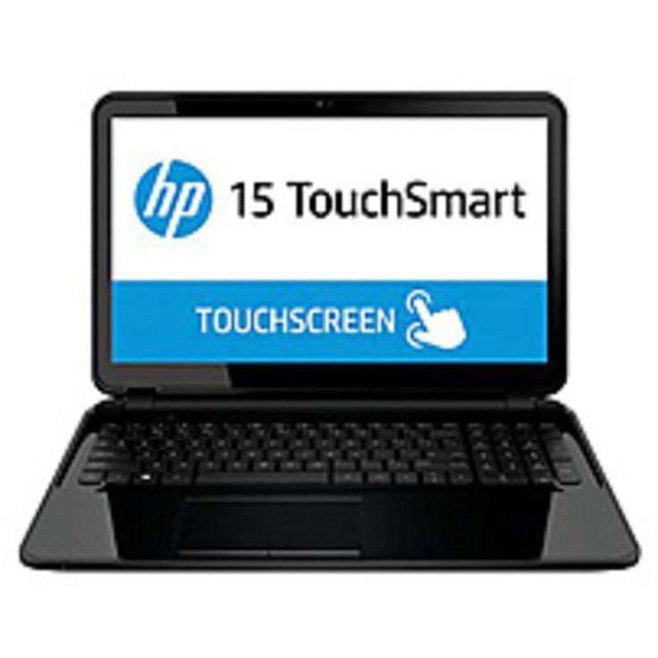 HP Pavilion F5Y19UA 15-d045nr TouchSmart Notebook PC - Intel Core i3-3110M 2.4 GHz Dual-Core Processor - 4 GB DDR3L SDRAM - 750 GB Hard Drive - 15.6-inch Touchscreen Display - Windows 8...