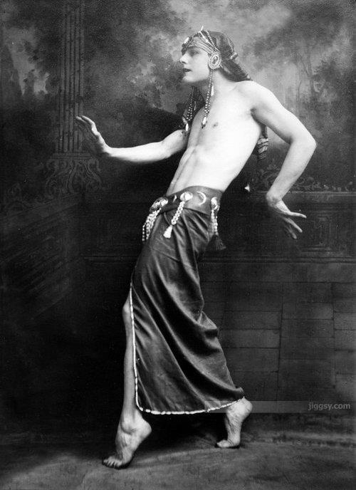 Iolaus...Greek dancer...1920s