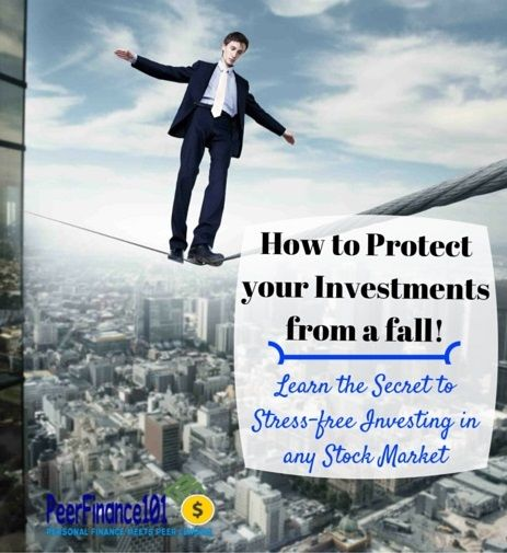 How to invest in the stock market without worrying about the next crash in #stocks. Learn how professional #investors make their money work for them in stocks and how they protect themselves from a stock market crash.