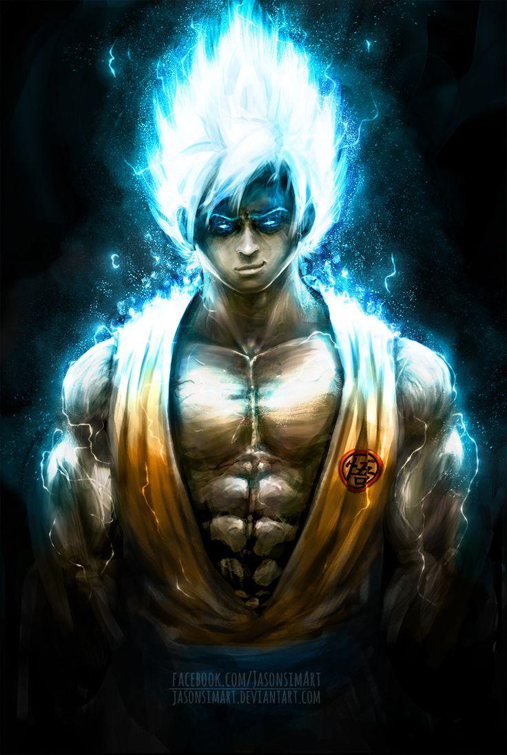 Goku super saiyan god by jasonsimart dragon ball - Foto goku super saiyan god ...