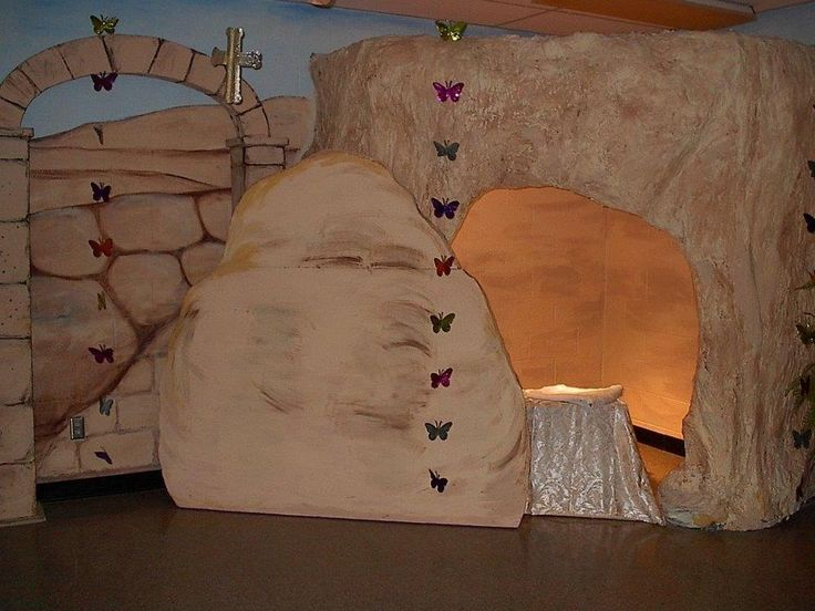 IDEAS for Building the Empty Tomb and other Resurrection Scenery ...