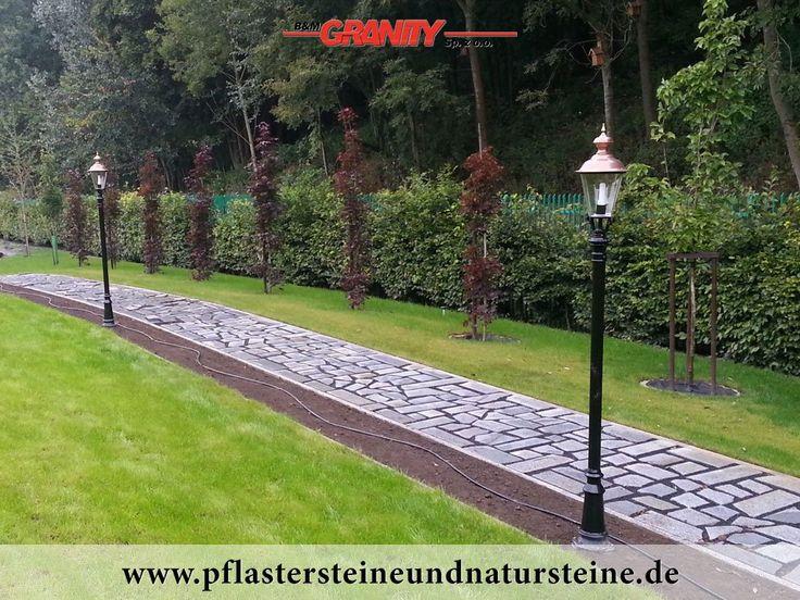 Firma B&M GRANITY – es gibt so unterschiedliche Wege zum Ziel…Es gibt so viele Möglichkeiten und Varianten…Wege aus Natursteinen…Granit aus Polen und Schweden, Schiefer, Serpentin im Außenbereich…Steine in diversen Farben…alle frostbeständig… http://www.pflastersteineundnatursteine.de/fotogalerie/unterschiedliche-naturstein-produkte/
