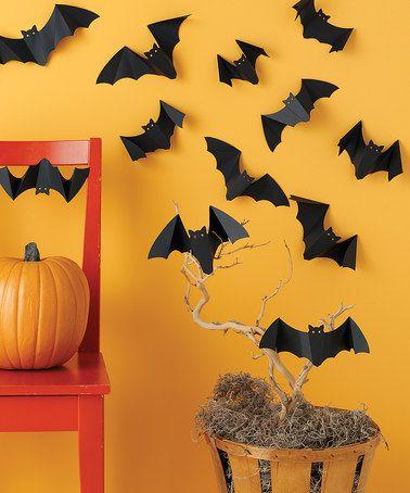 Another great find on #zulily! Dimensional Bat Cutout Set by Martha Stewart Crafts #zulilyfinds