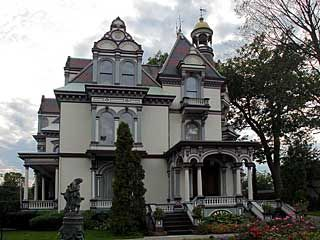 Saratoga Springs, New York Victorian Mansion