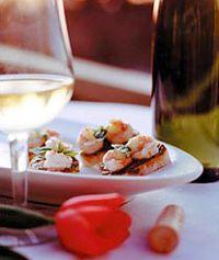 Accords mets et vins sur table