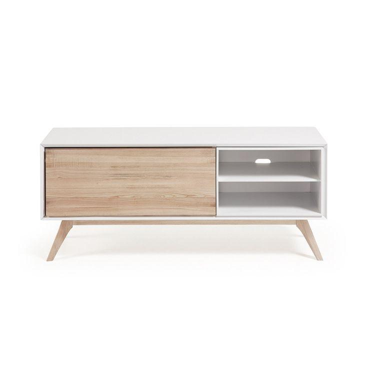 Mueble bajo tv de estilo moderno escandinavo si lo que te for Que es un canape mueble