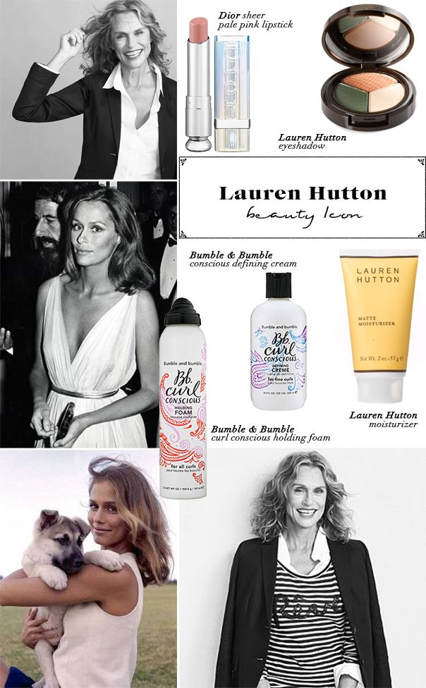 GG_LAURENHUTTON_BEAUTYICON - I'm the one who luv Bumble & Bumble too !