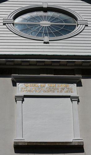 Window and Inscription on Kirtland Temple - http://www.everythingmormon.com/window-and-inscription-on-kirtland-temple/  #mormonproducts #LDS #mormonlife