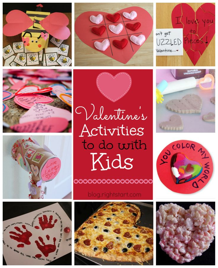 Check out Sara's cute Valentine's Activities/Ideas - 'Fun Valentine's Activities to do with Kids!' - Right Start Blog
