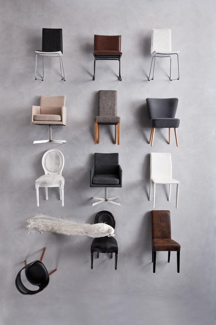 Es tu decisión… ¡Escoge la que más te guste! #Kare, #Chair, #Decoration, #Interior.