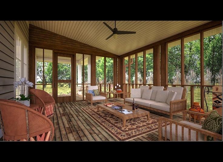 Sunrooms... or part of the garden? ): Design Inspiration, Decor Ideas, Screens Porches, Porches Decor, Sun Porches, Gorgeous Sunroom, Back Porches, Four Seasons Room, Sun Rooms