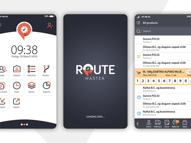 Route Master Redesign