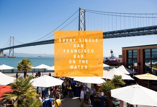 Every single waterfront bar in San Francisco aka our weekend walk route