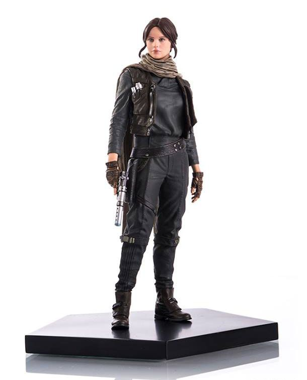 Estátua Star Wars Rogue One Jyn Erso - Art Scale 1/10 - 17,5 cm - Iron Studios   Comic Store Brasil