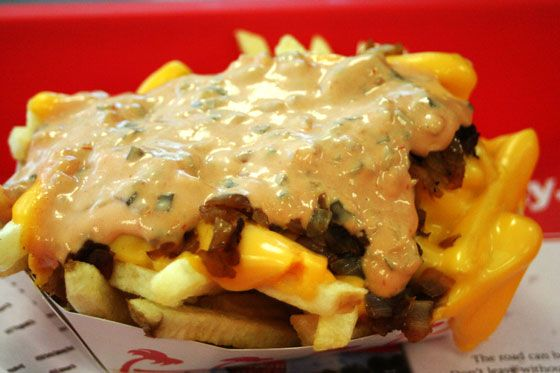 Animal Fries from In-N-Out Burger