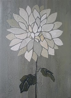 One of my flower paintings