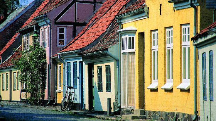 Ærøskøbing, Funen (Fyn) Denmark