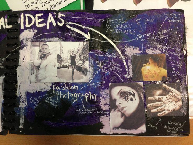 Student Sketchbooks - Mindboards