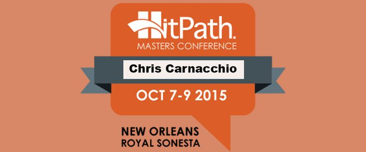 Chris Carnacchio, VP of Media Buying and Optimization for AdReady, spoke at the HitPath conference in NOLA.