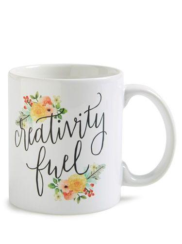 Printable Wisdom U0027Creativity Fuelu0027 Mug