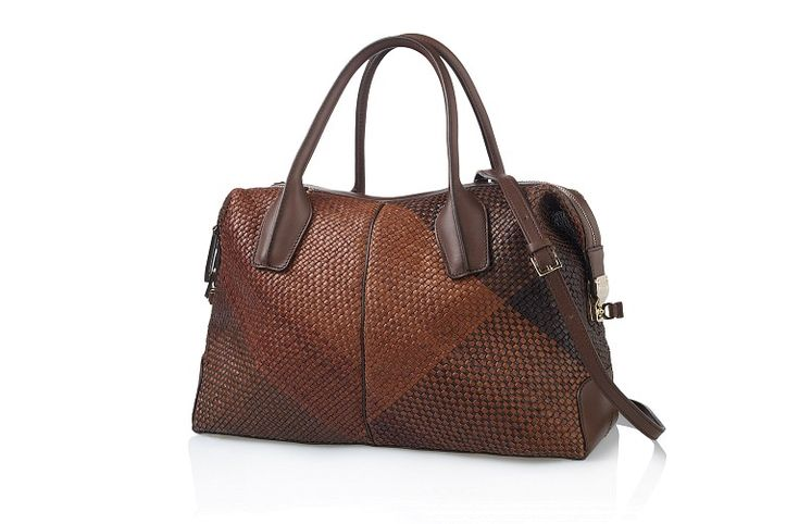 Batwa Purse Making : Tod`S D-Styling Medium Woven Leather Bag 14416 - iLUXdb.com Realtime ...