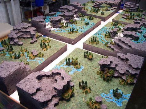 3-D Hex maps