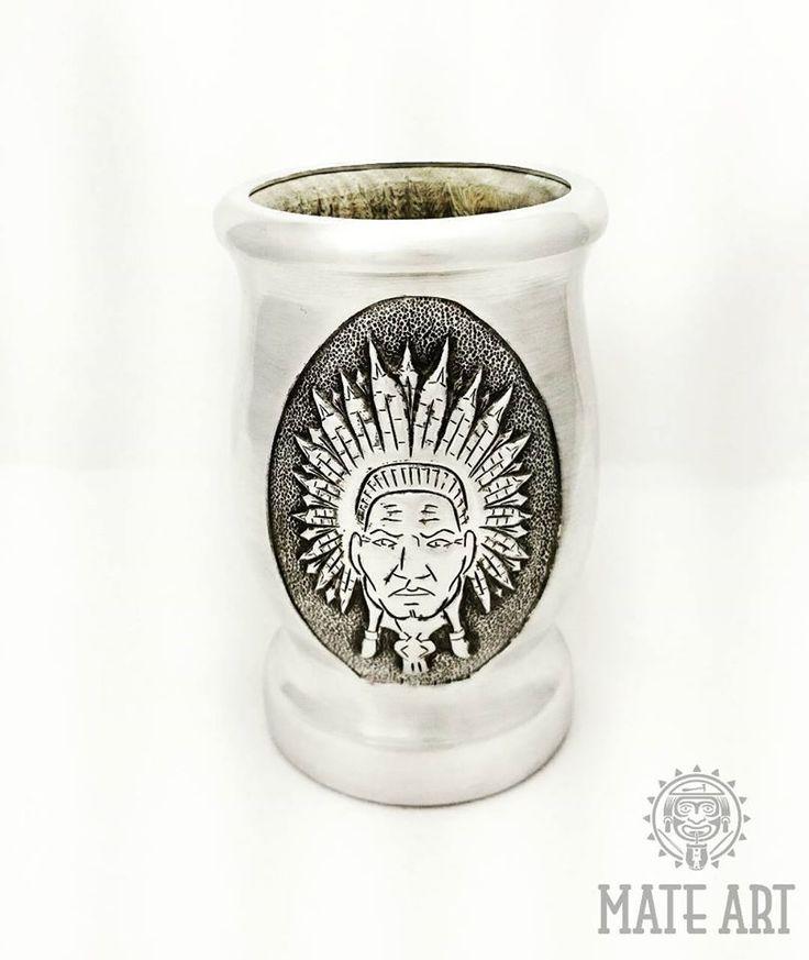 Matero Palo Santo Yerba Mate http://www.sklepkolonialny.com/  #yerba #matero #metalart #handmade #cejrowski