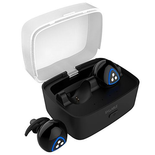 P&R Wireless Small Fashion Lightweight Stereo Bluetooth Headset Waterproof In-ear Earphone for Iphone 7, 7 plus (Black). Real wireless,dynamic music, zero-bound experience music project. Small fashion lightweight and easy to carry. Multifunctional one-button operation, easy to use,it can receiving calls,listen to music etc. In-ear stratified silicone in-ear design,wireless two-channel stereo output. DSP intelligent noise reduction,block external noise DSP.