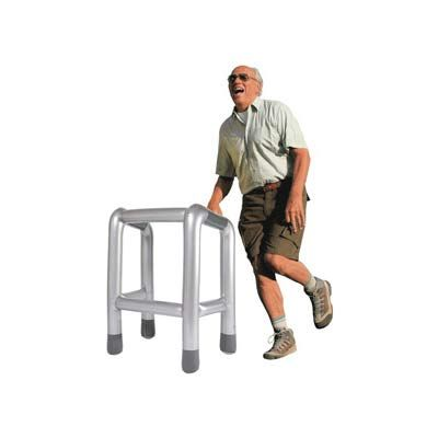 The Zimmer Inflatable Walking Frame. #Zimmer #old #retirement #Zimmerframe